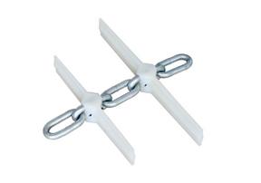 圆环链刮板机链条